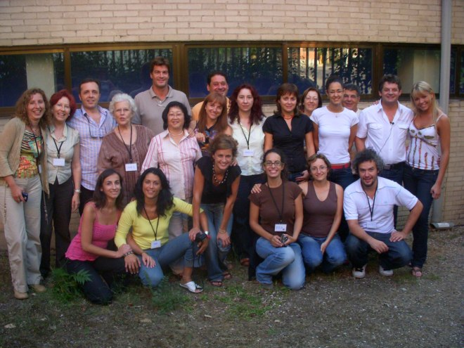 compañeros curso coaching con Manfred Forderer